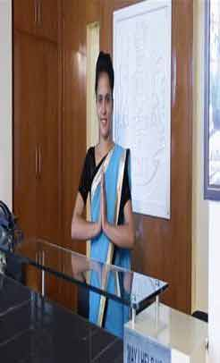 reception front office course in delhi